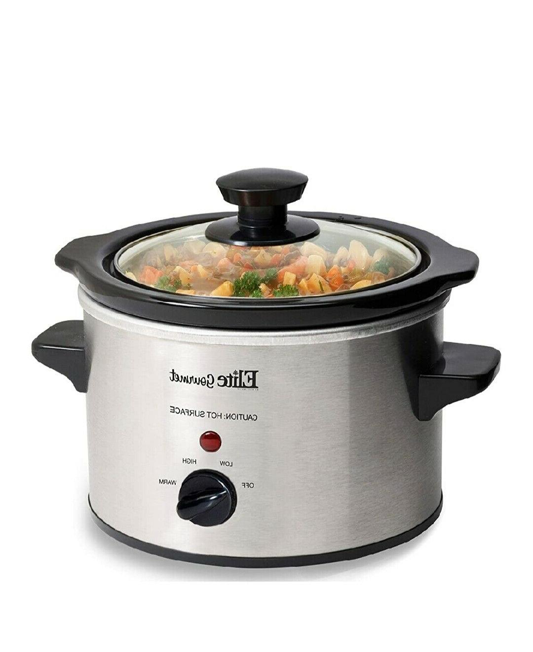 Small Slow Cooker Kitchen Appliance Portable