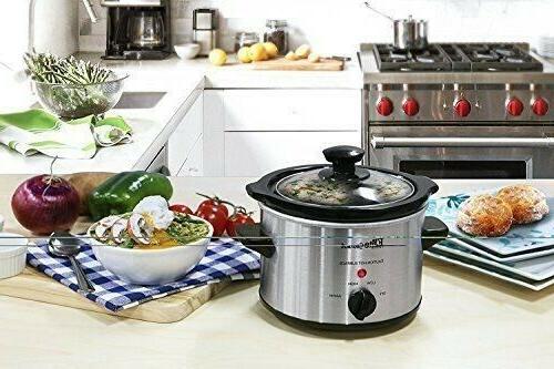 Small Slow Steel Kitchen Appliance 1.5
