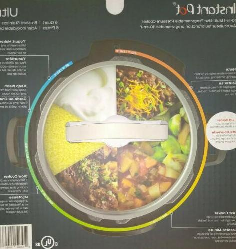 Duo Ultra 10-in-1 Cooker. Fedex Overnight FREE!
