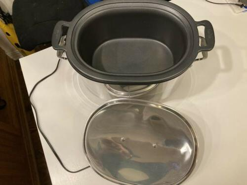 Used Cooker Big SD700450 Stainless steel cover