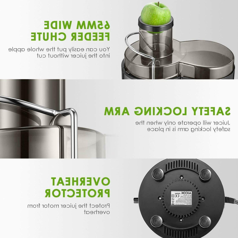 Juicer Aicok Juicer Machine to Clean, 3 Speed Juicer
