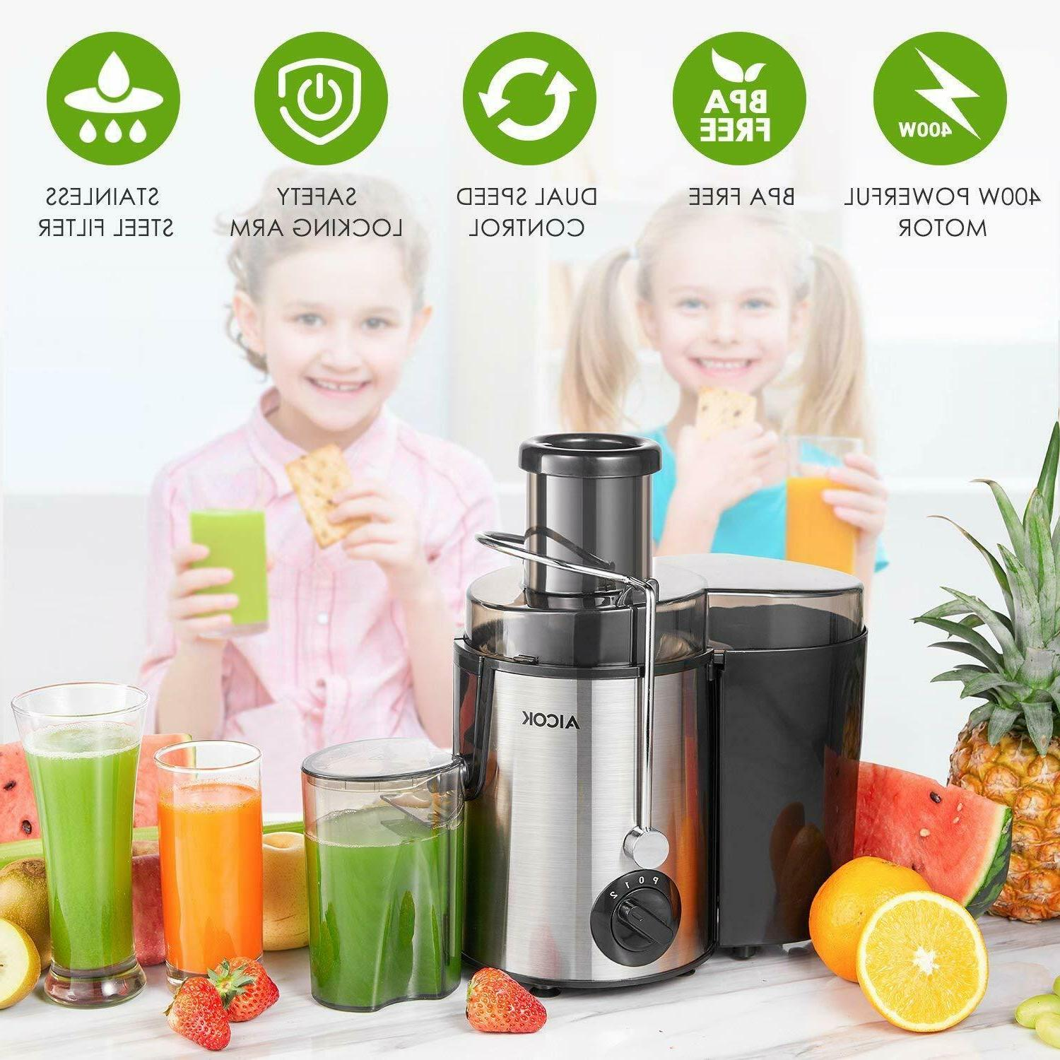 Juicer Centrifugal Machine Easy to 3 Speed