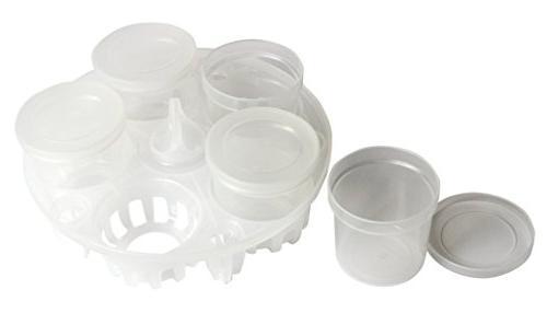 yogurt cups pressure sterilization rack