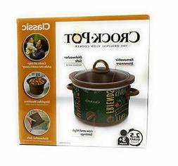 limited edition classic crock pot slow cooker
