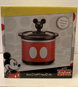 Disney Mickey Mouse .65 Mini Crock For Dips Or Potpourri Rem