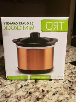 TRU Mini Crockpot. 65-quart