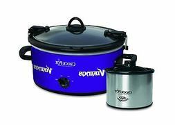 Crock-Pot Minnesota Vikings NFL Cook & Carry Slow Cooker wit
