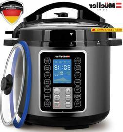 Mueller Ultrapot 6Q Pressure Cooker Instant Crock 10 In 1 Ho