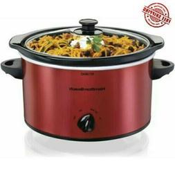 New Hamilton Beach 3 Quart Slow Cooker | Model 33230 Red Cro