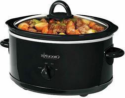 New Crock Pot SCV700-B 7 Quart Black -Free shipping