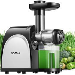 New Juicer Masticating Slow Juicer Extractor, Aicok Juice Qu