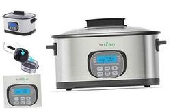 nutrichef 11 in 1 cooking functions crockpot