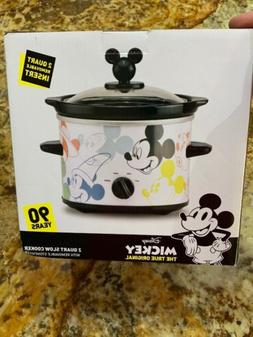 One New in box! Disney Mickey Mouse 90th Anniversary Slow Co