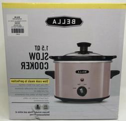 Bella Pink 1.5 qt Slow Cooker Crock Pot new