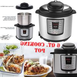Instant Pot Pressure Cooker 12 in 1 Programmable 6 Quart Ele