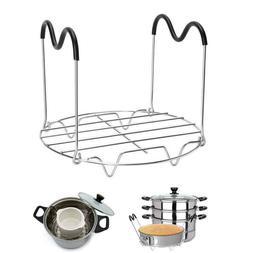 1PC Steamer Rack Trivet with Handles for Instant Pot Pressur