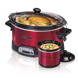 Hamilton Beach 7 Quart Programmable Slow Cooker Crock Pot wi