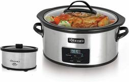 Crock-Pot® 6 Qt. Programmable Slow Cooker with Little Dippe