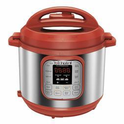 Instant Pot Quick Dinner Ip-Duo60Red Pressure Cooker 6 Quart