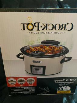 Crock-Pot® SCCPVC400-S 4 qt. Count Down Slow Cooker Is Desi