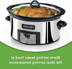 Crock-Pot SCCPVC600-p-a 6-Qt. Countdown Slow Cooker