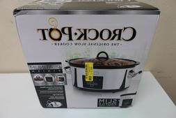 Crock-pot SCCPVF710-P Slow Cooker, 7 Quart, Polished