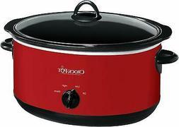 Crock-pot SCV800-R Express Slow Cooker, 8 Quart, Red