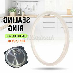 Sealing Ring Seal Gaskets Silicone Replacement For 3/6/8QT C