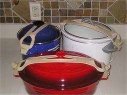Silicone Bands For Crock Pot, Pots, Pan Lids Large Small Uni