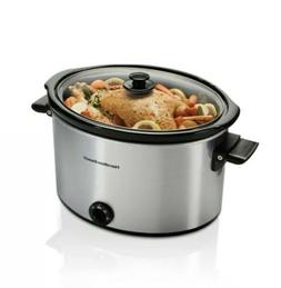 10 Quart Large Slow Cooker Crock Pot Stoneware Kitchen Appli