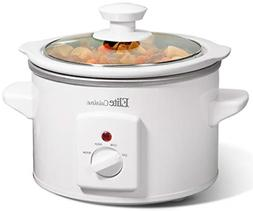 Small Slow Cooker Glass Lid Crock Pot Mini Kitchen Appliance