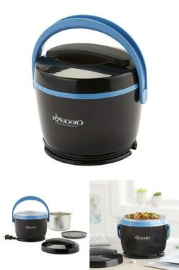Small Slow Cooker Mini Food Warmer For Personal Portion Lunc