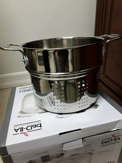All Clad Stainless Steel 6 qt. Pasta Pot, Insert ONLY, NO PO