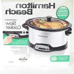 Hamilton Beach® 6-qt. Stainless Steel Programmable Slow