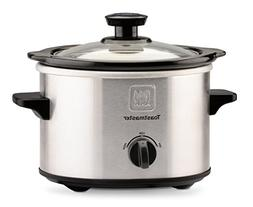 Toastmaster® 1.5qt. Stainless Steel Slow Cooker