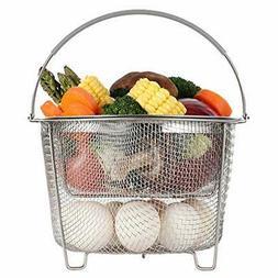 Steamer Basket for Instant Pot Accessories 6 qt or 8 quart -