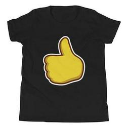Thumbs Up Bella + Canvas 3001Y Youth Short Sleeve Tee with T
