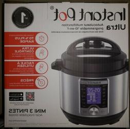 Instant Pot Ultra 3 Qt 10-in-1 Multi- Use Programmable Press