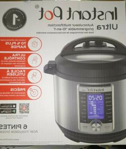 Instant Pot 6 Qt Duo Ultra 10-in-1 Pressure Cooker. SHIPS Fe