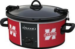 University Of Nebraska NCAA Crock-Pot® Cook & Carry 6-Qt