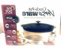 Rival Versaware Crock Pot Slow Cooker 6 Qt. Extreme Temp, Sa